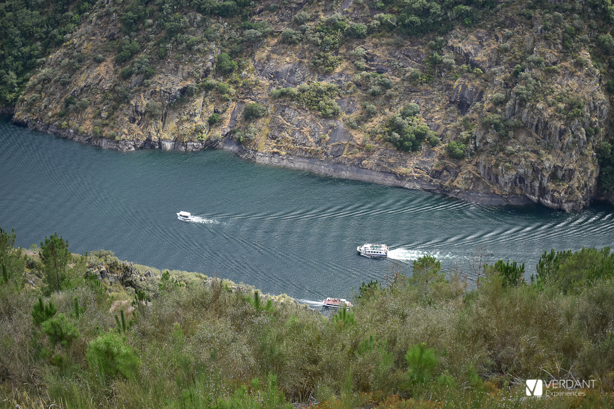 River boats in Ribeira Sacra: the Sil river Canyon and the Miño river