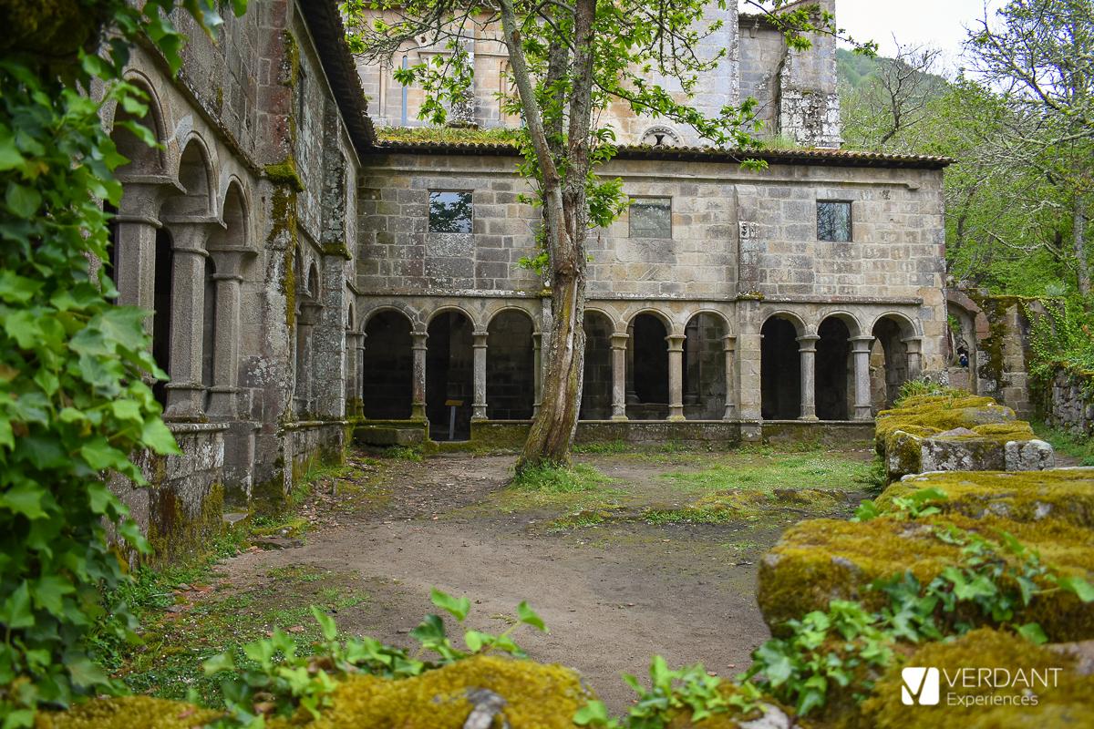 Monasterios de Ribeira Sacra: Monasterio de Santa Cristina de Ribas de Sil